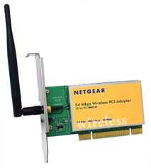 Netgear WG311, 802.11g 54Mbps Wireless PCI Adapter Not Compatable with Win 7 x64, 1 Year
