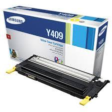 SamsungCLT-Y409S Laser cartridge 1000pages Yellow toner cartridge CLT-Y409S