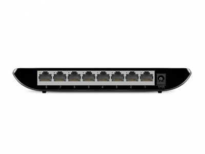 TP-Link TL-SG1008D, 8-port Desktop Gigabit Switch, 8 101001000M RJ45 Ports, Plastic Case, 3 Years
