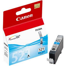 Canon Cyan Ink Cartridge CLI521C IP4600 IP4700 MX860 MP550 MP560 MP640 MP990 CLI521C