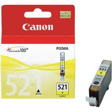 Canon Yellow Ink Cartridge CLI521Y IP4600 IP4700 MX860 MP550 MP560 MP640 MP990 CLI521Y