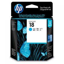 HP C4937A Cyan Ink Cartridge