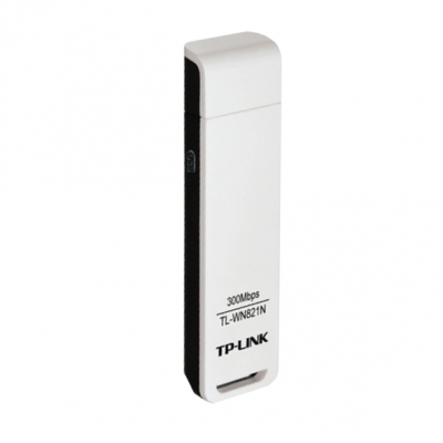 TP-Link TL-WN821N, 300Mbps Wireless N USB Adapter, Atheros, 2T2R, 2.4Ghz, 802.11ngb, 3 Years