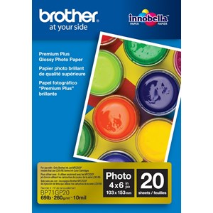 Brother BP71GP20 Glossy Photo Paper