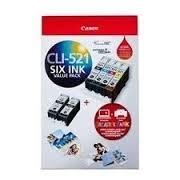 Canon CLI521BK C M Y+PP2014X6-50 VALUE PK CLI521VP