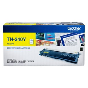 Brother TN240Y Laser cartridge 1400pages Yellow TN240Y