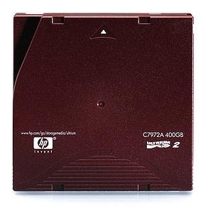 HP LTO2 Ultrium 2 400GB Data Cartridge [C7972A]