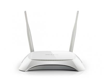 TP-Link TL-MR3420, 300Mbps 3G4G Wireless N Router, Compatible with LTEHSUPAHSDPAUMTSEVDO USB Modems, 2 x 5dBi Antennas, Omni directional, Detacha