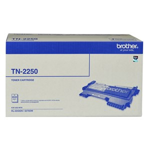 Brother MONO LASER TN - HIGH YIELD CARTRIDGE - UP TO 2600 PAGES TN-2250
