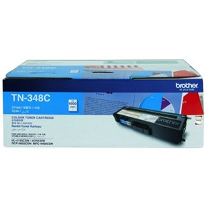 Brother TN348 High Yield Cyan Laser Toner for HL4150CDN/4570CDW TN-348C