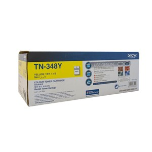 Brother TN348 High Yield Yellow Laser Toner for HL4150CDN/4570CDW TN-348Y