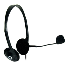 Headset With Microphone Volume Control