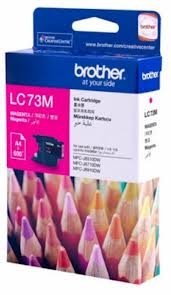 Brother MAGENTA HIGH YIELD INK CARTRIDGE - UP TO 600 PAGES LC-73M