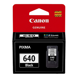 Canon PG640 Black Ink Cart MG4160 PG640
