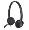 H340 Black Usb Headset