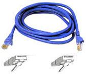 Cat6e Network Cable 0.5m Blue