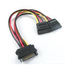 8ware SATA Power Splitter M-F Cable 15cm