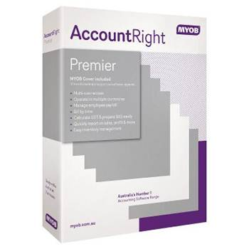 MYOB MU-19-AU, AccountRight Premier v19 - Multi-user business management software with integrated payroll, inventory, time billing and multiple curren