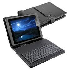 MultiLaser TC155, 7 Mini Keyboard with Tablet Cover, Micro USB