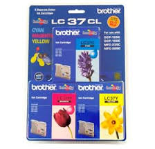 Brother Inkjet Cartridge for DCP150C/MFC235/MFC260C ink cartridge Cyan Magenta Yellow LC37CL3PK