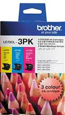 Brother COLOUR VALUE PACK 1X CYAN 1X MAGENTA 1X YELLOW LC73CL3PK