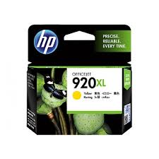 HP 920XL YELLOW INK CARTRIDGEOFFICEJET 6500 CD974AA