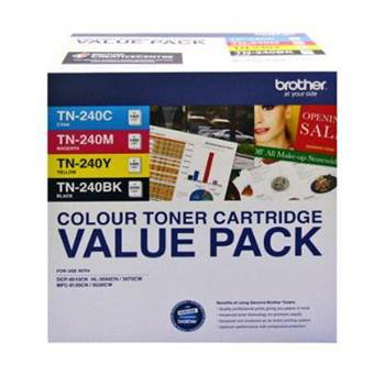 Brother TN-240CL4PK Colour Pack 4 CMYK