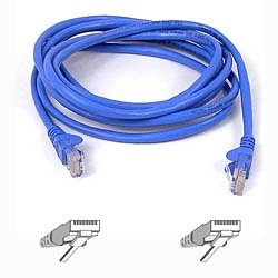 Cat5e UTP Snagless 05.m Blue