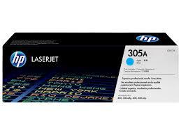 HP 305A Cyan LJ Print Cartridge CE411A