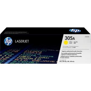 HP 305A Yellow LJ Print Cartridge CE412A