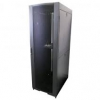 LinkBasic LB-NCB42U-66-BDA, 42RU 600mm Depth Server Rack Smoke Glass Door with 2x240v Fans and 8-Port 10A PDU, 1 Year