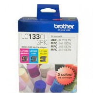 Brother LC133 Colour Value CMY