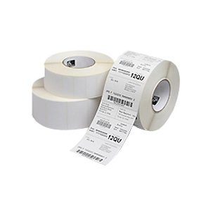 Zebra 4INX2IN DT LABEL. 2 760 LABELS / ROLL. BRIGHT WHITE UNCOATED WITH PERMANENT ACRYLIC ADHESIVE 10003051