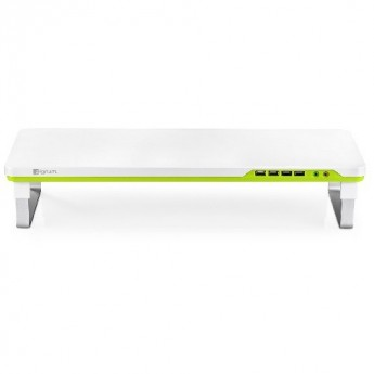 Deepcool M-DESK-F1, Ergonomic Monitor Stand Up To 27 and 10kg W Audio and 4x USB, 1 Year