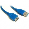 8ware USB 3.0 Ext Cable Type A to A M/F Blue 2m