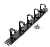 Astrotek Black 1U cable management