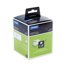 Dymo Large Address Labels Paper White