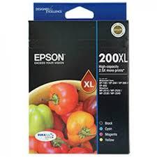 Epson 200XL High Cap DURABrite Ultra 4 ink Value Pack C13T201692