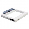 "Silverstone SST-TS08, Interchangeable optical drive slot to 2.5"" SATA SSD or HDD Support 9.5mm, White, 1 Year"