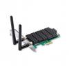 TPLink AC1300 Dual Band Wireless PCI Express Adapter Broadcom 2T2R 867Mbps at 5Ghz + 400Mbps at 2.4Ghz 802.11ac/a/b/g/n 2 detachable antennas ARCHER T6E