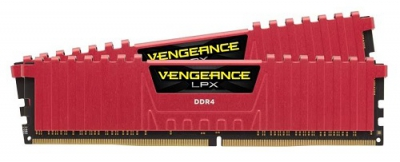 16GB DDR4 2133MHz Vengeance LPX Red