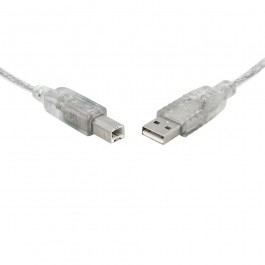 8ware USB Certified Cable A-B 1m