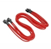 Thermaltake CPU Cable Sleeved Red