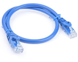 8ware Cat 6a UTP Snagless 50cm Blue