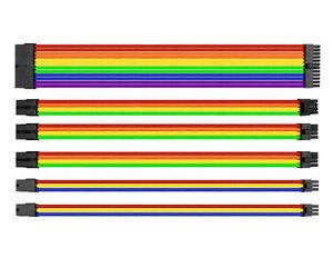 Thermaltake TtMod Sleeve Cable Rainbow Kit
