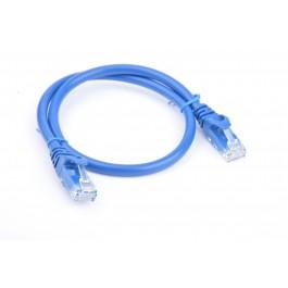 8ware Cat6 UTP 25cm Snagless Blue