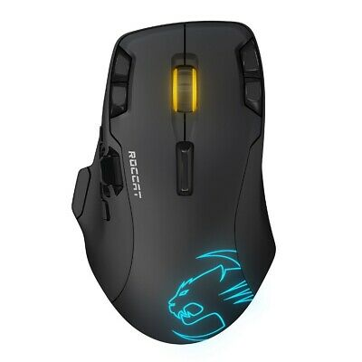 Roccat LEADR Wireless Multi-Button RGB Gaming Mouse