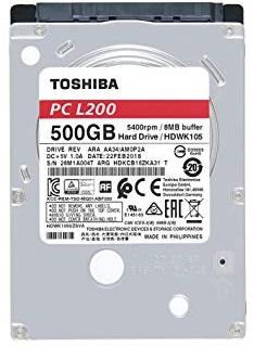 TOSHIBA L200 HD 2.5