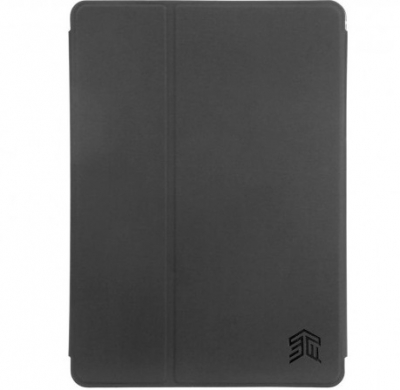 STM STM-222-161JW-01, Studio Case, iPad 5th/6th Gen, iPad Pro 9.7 & iPad Air 1/2, Black Smoke, Limited Lifetime