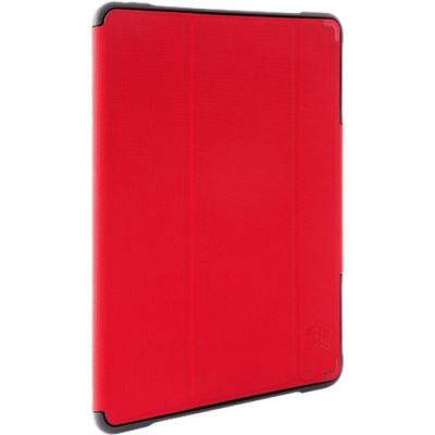 STM STM-222-165JW-02, Dux Plus Apple Pencil, iPad 6th Gen, Red, Limited Lifetime